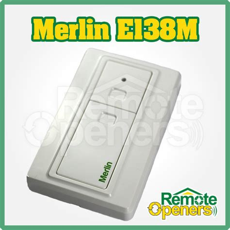 Merlin Garage Remote Controls by Merlin E138m Garage Door Wall Remote Security 2 0