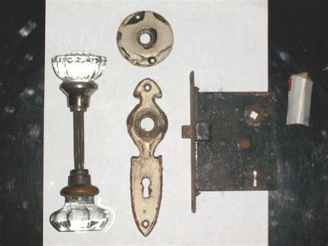how to refurbish door hardware ebay antique mortise closet lock set door backplates and knobs