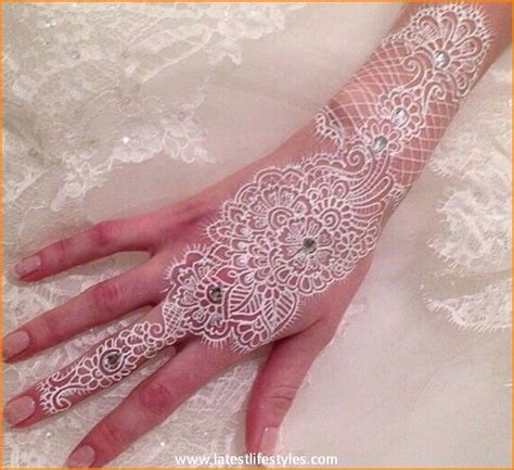 white henna tattoo on hand henna tattoos mehndi designs