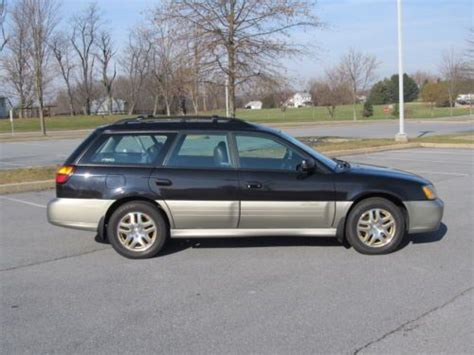 buy used 2001 subaru outback limited wagon 4 door 2 5l 5 speed manual transmission in pottstown