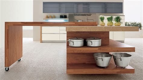 movable kitchen island with breakfast bar mare kitchen by gd cucine