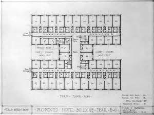 floor plan hotel proposed hotel building trail b c third floor plan city of vancouver archives