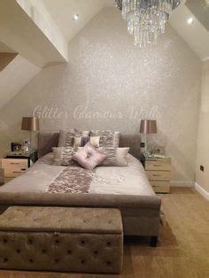glitter wallpaper for bedroom gunmetal grey glitter wallpaper featured on a chimney