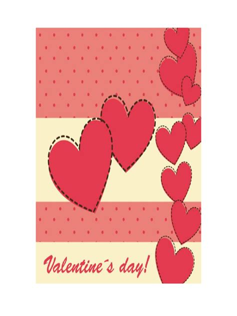 valentine s day card template 5 free templates in pdf