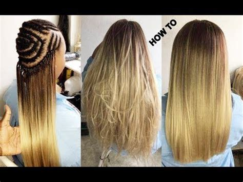 white hair pattern watch me do crochet braids with cheap hair under 5 youtube