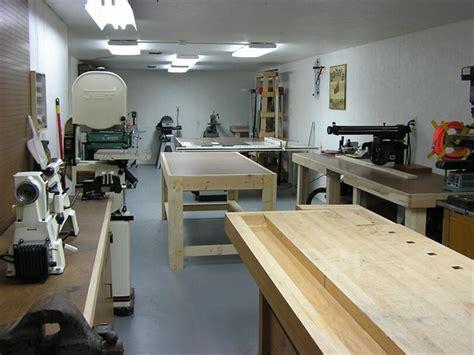 johns basement woodshop shop wood whisperer
