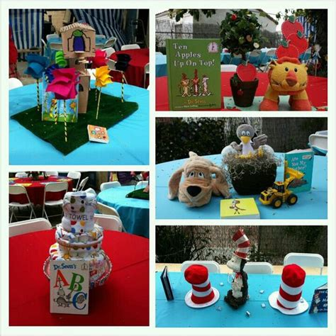 dr seuss centerpieces dr seuss table centerpieces ideas