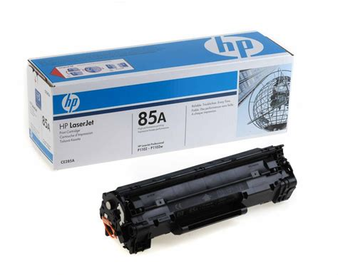 Toner Hp 85a hp original oem ce285a black laser toner cartridge