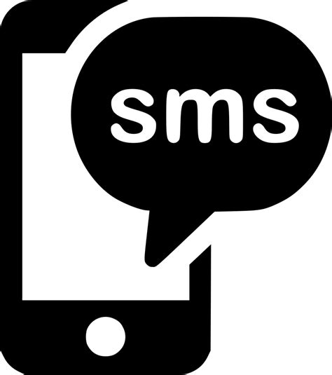 sms on mobile mobile message sms chat svg png icon free