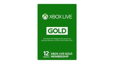 Buy xbox live 12 month gold membership microsoft store