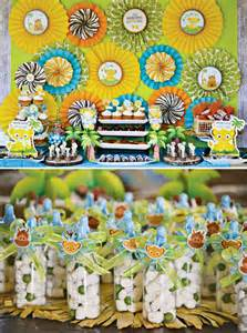safari inspired lion king baby shower hostess with the