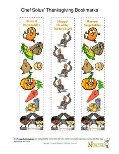 free printable nutrition bookmarks 1000 images about thanksgiving printables on pinterest