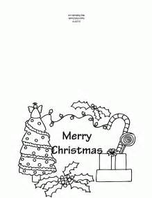 Christmas greeting colouring pages