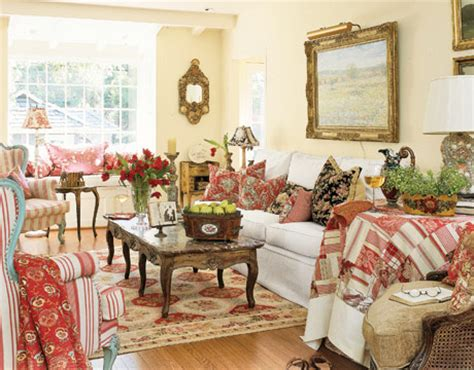 French country living home design ideas