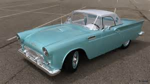 Ford Thunderbird 1957 Ford Thunderbird By Timnaas On Deviantart