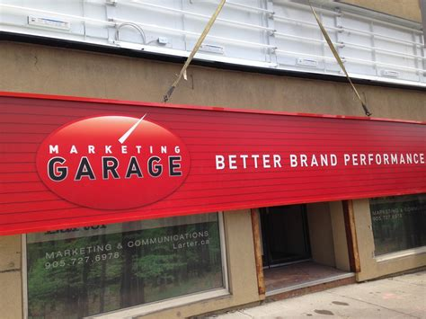 Garage Marketing by Welcome To The Marketing Garage A New Toronto Marketing