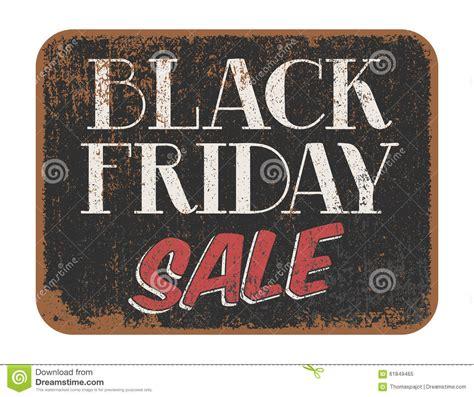 The Sign Black black friday sale vintage sign stock vector image 61849465