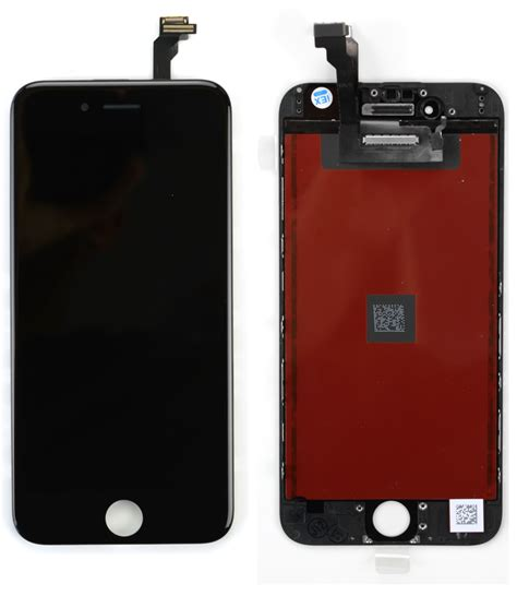 Kaca Lcd Iphone 6plus Include Frame Original iphone 6 aaa digitizer lcd black gold cell phone parts