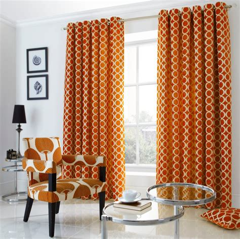 cream and orange curtains oh orange eyelet curtains from net curtains direct