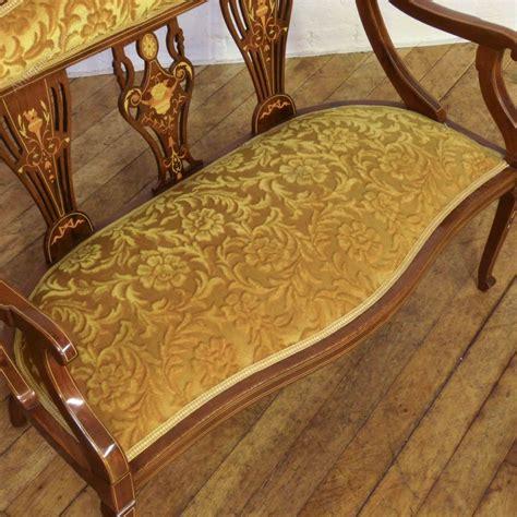 edwardian couch edwardian mahogany inlaid sofa antiques atlas