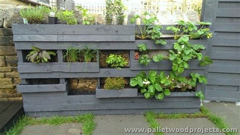 wall herb planter adorable pallet wall planter ideas pallet wood projects