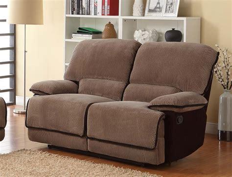 brown corduroy couch homelegance grantham reclining sofa set brown corduroy