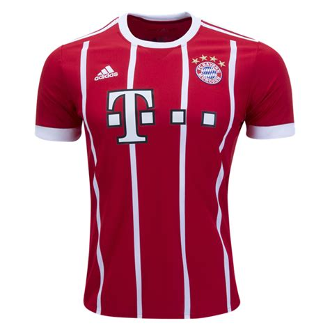 Sale Jersey Bayern Munchen Home 2017 2018 Grade Ori adidas bayern munich 2017 2018 home jersey soccer unlimited usa