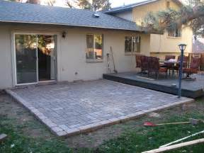 Diy Patio With Pavers Patio How To Build A Patio With Pavers Home Interior Design