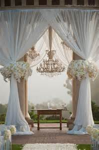 Wedding Ceremony Canopy Wedding Arches The Engagement