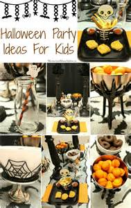 halloween party ideas for kids moms amp munchkins