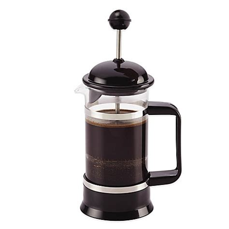 bed bath and beyond french press bonjour 174 3 cup la petite french press and frother set in