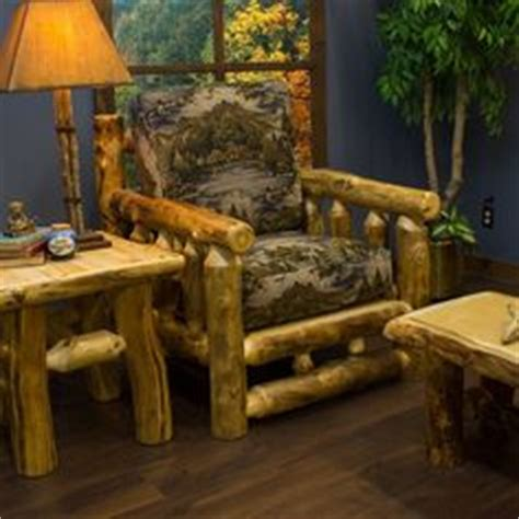 aspen dining room table cabin stuff pinterest log dining table rugged materials make lodge decor