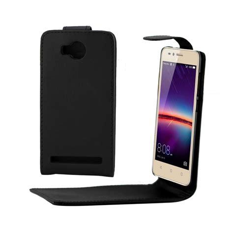 Flipcover Ume Huawei Y3 Flipcase Flip Cover Huawei Y3 huawei y3 ii y3ii ordinary texture vertical flip leather black alex nld