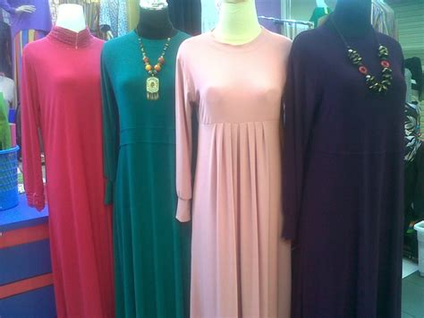 Gamis Jersey Murah Yogyakarta Baju Gamis Bahan Jersey Terbaru