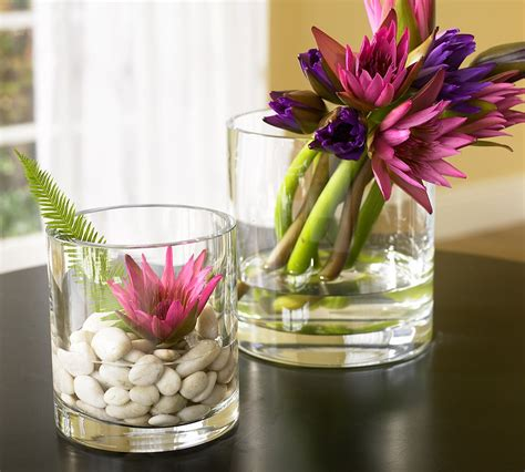 real simple ideas for simple glass vases by