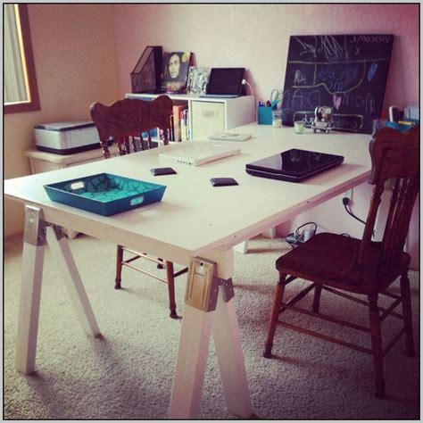 diy sawhorse desk diy sawhorse desk desk home design ideas mebyga3ngz22904