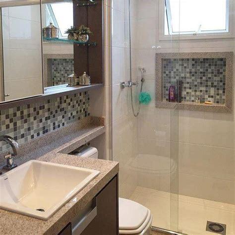 banheiro decorado muito pequeno 55 banheiros pequenos decorados cheios de estilo