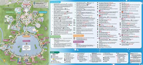 printable maps of disney world printable epcot map printable maps