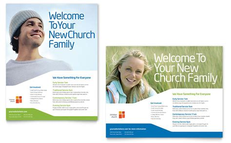 Church Youth Ministry Poster Template Word Publisher Church Brochure Template Publisher