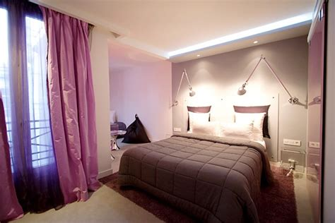 Chambre Prune Et Taupe