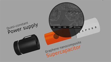 zapgo  graphene supercapacitor charger indiegogo