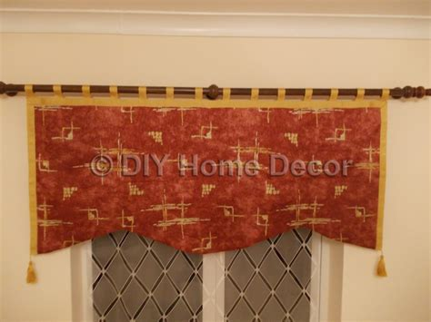 how to make basic curtains how to make a simple valance diy home decor