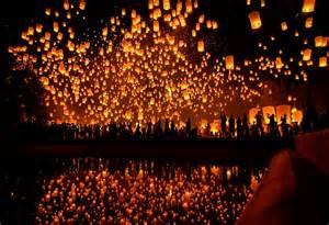 new lights yi peng lantern festival domestic sanity