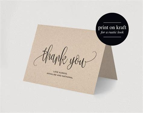 unisex thank you card template 17 best ideas about printable thank you cards on