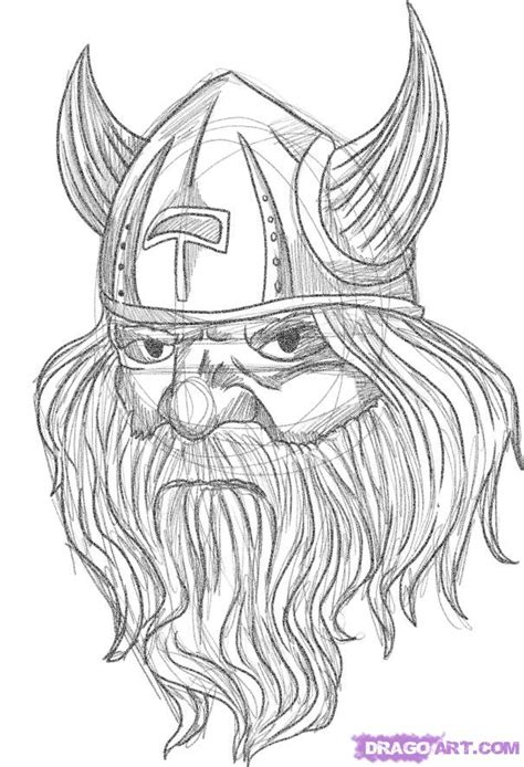 simple viking tattoo draw a viking tattoo step by step drawing sheets added