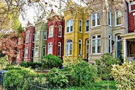 4 Bedroom Houses For Rent In Washington Dc by Historic Row Homes The Washington Intern Housing Network