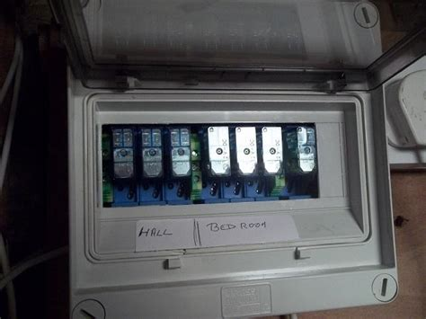 home automation installing a relay into a consumer unit