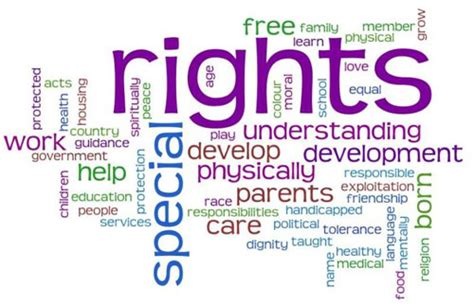 right meaning rights of the child the and child health and