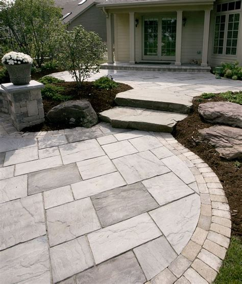 Slate Patio Pavers Best 25 Slate Pavers Ideas On Walkway Slate Patio And Slate Walkway