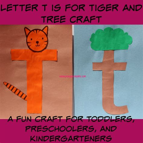 letter t tree fun family crafts penguins in pink resources to rock the mom life